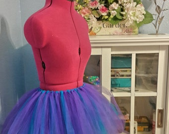 "Tutu - ""Fairy Dreams"" - Teal and Violet"