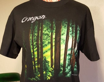 Vintage Oregon Tee Shirt