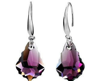 Hot sale. Best deal, great quality dark amethyst Crystal with sterling silver.