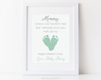 Mom to be gift expecting mommy from unborn baby personalized expecting mother gift for mothers day mom mommy to be gift from unborn baby personalized negle Images