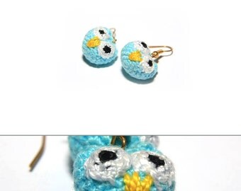 Animals/Creatures Amigurumi Earrings - Made To Order / Choose your design