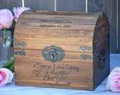 Every Love Story is Beautiful But Ours is My Favorite - Rustic Wedding Decor - Wedding Card Box - Rustic Wedding Card Box - Program Box