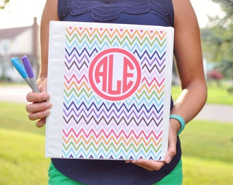 Binder Cover Printables - Teacher Binder Covers - Printable Monograms