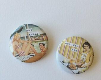 Sassy Vintage Housewives Pin Set