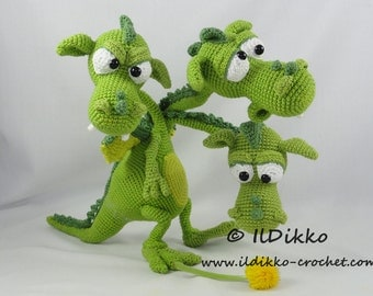 Dragon Azul Amigurumi : Amigurumi Crochet Pattern Emma the Emu