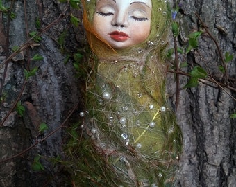 "Sale!!!  Art doll ooak ""Sleeping spring"""