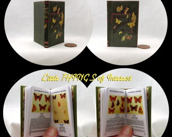 """BUTTERFLIES AND MOTHS Book 18"""" American Girl Doll Accessories free shipping"""