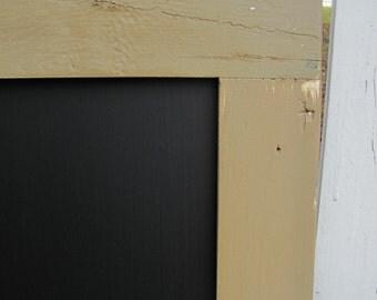 Large Framed Chalkboard / Chalk board / Message Board / 24x36 / Ready to Hang / Shown in Shingle / *CHOOSE COLOR*