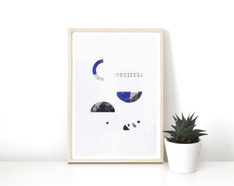 POSTER small Rörlig #2 - Graphic limited edition