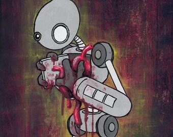 Poster, Print, Robot Heart