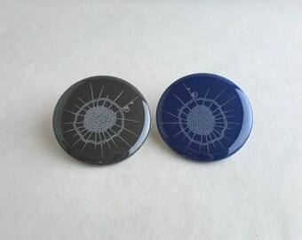 Heliozoa Button