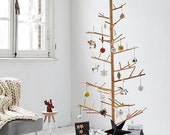 Wooden christmas tree, made from Ash wood