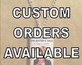 Create Your Own Custom Book Necklace