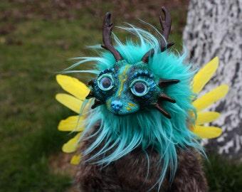 Naru the Forest Spirit ooak art doll