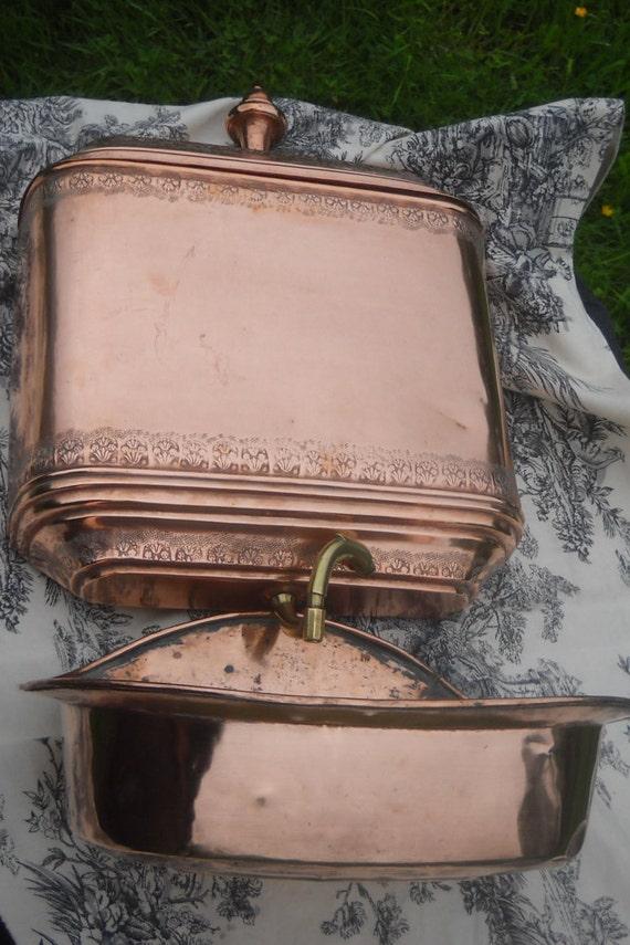 lavabo eau normandie fontaine antique massif qualit cuivre. Black Bedroom Furniture Sets. Home Design Ideas