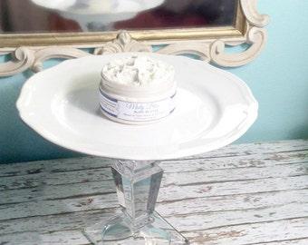 Misty Blue Organic Body Butter - Inspired by Light Blue - Organic Jojoba Oil, Coconut Milk, Shea Butter, and Macadamia Oil