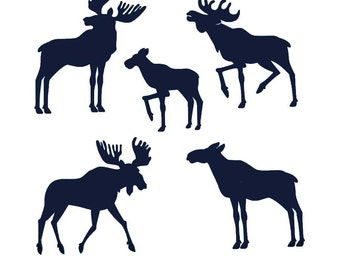 Vinyl Moose  3 sheet (same design)