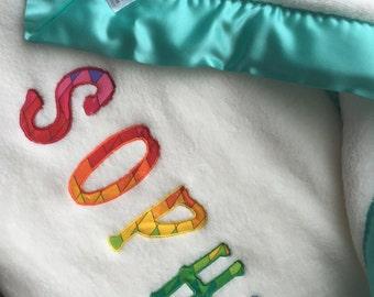 Rainbow Baby Gift Blanket