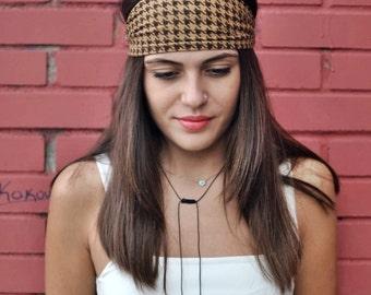 Cinnamon Headband, Jersey Headband, Turban, Head Wrap, Sports Headbands, Wide Headband, Womens Turban, Turban Headband, Womens Headband