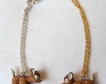 Necklaces, Bambi, fawn