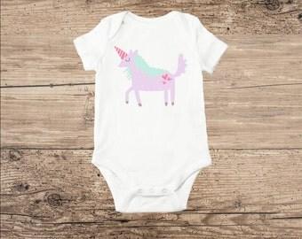 Unicorn Baby Clothes, Unicorn T Shirt