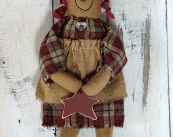 Raggedy Annie with a Star