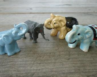 Miniature Elephant Figurines