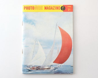 Vintage Photoguide Camera Magazine April 1960 - A Focal Press Publication 1960s