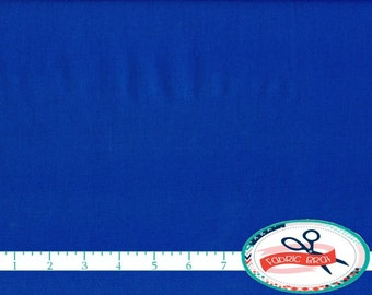 KONA COTTON ROYAL Solid Fabric by the Yard, Fat Quarter Robert Kaufman Royal Blue Solid fabric K001-1314 100% Cotton Quilt Fabric w12-27