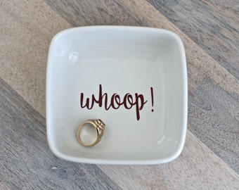 whoop! || Texas Aggie Ring Dish