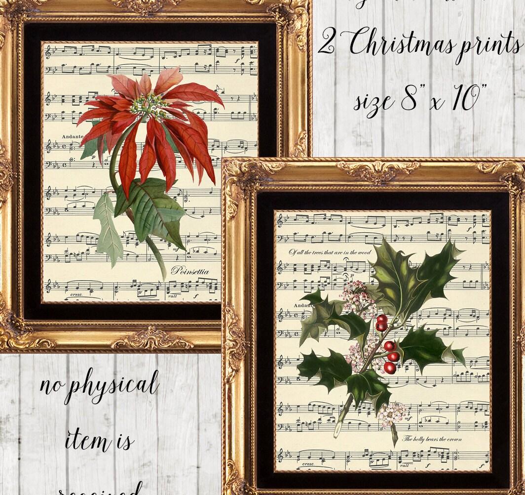 Christmas Wall Decor Printables : Christmas printable wall art