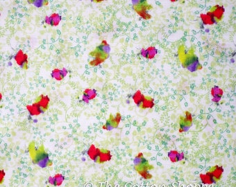 Sas and Yosh Spring Explorer ~ Kokka Fabric ~ Japanese Fabric ~ Double Gauze Fabric ~ Quilting Fabric ~ Home Decor Fabric ~ Apparel Fabric