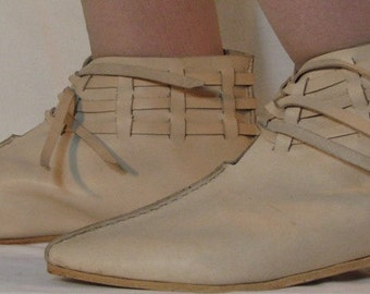 Viking Lace Shoe - Leather - MIL435