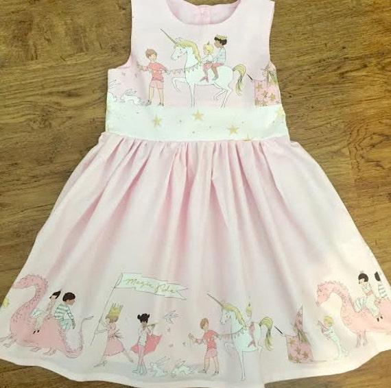 Girl s Dress Girls Unicorn Dress Baby Girl 1st Birthday