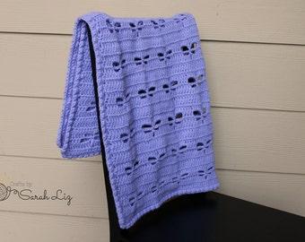 Crochet Dragonfly Baby Blanket Pattern : Crochet Dragonfly Blanket/Baby Blanket/Car Seat Blanket