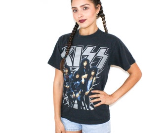 1990 KISS Hot In The Shade Tour T Shirt