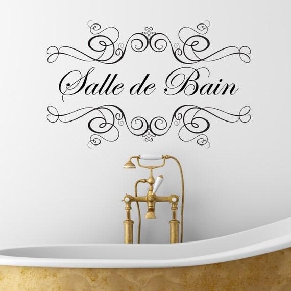 Salle De Bain Wall Sticker Wall Decal Wall Sticker Bathroom