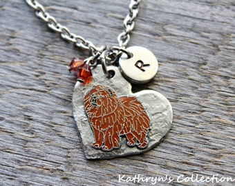 Chow Chow Necklace, Chow Chow Jewelry, Chow Mom, Chow gift, Chow Sympathy, Dog lover Gift