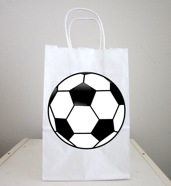 Soccer Ball Goody Bags Soccer Ball Favor Bags Soccer Party