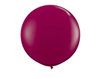 Maroon Jumbo Balloon Maroon Balloon Giant Burgundy Party Decorations Maroon Decor Giant Balloons Large Burgundy Balloon Event Decor Balloon