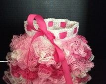 Fluffy Young Girl's Ruffle Skirt
