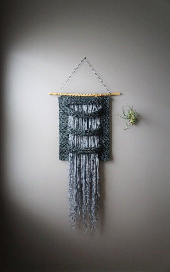 Woven Wall Hanging Wool Tapestry Bohemian Wall Hanging