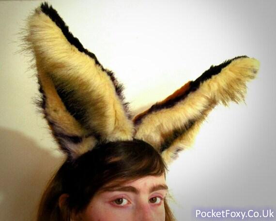 how to make realistic fox ears