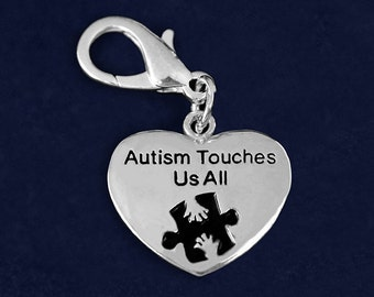 Autism Touches Us All Hanging Charm (RETAIL) (RE-HCHARM-01AT)