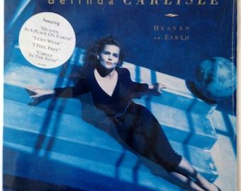 Belinda Carlisle - Heaven On Earth LP Vinyl Record Album, MCA Records - MCA-42080, Rock, 1987, Original Pressing