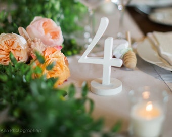 Summer Wedding Table numbers White, Unique wedding table decoration, White, rustic table numbers, table numbers rustic, wooden numbers