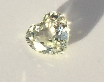 Heart shape loose stones, Natural not treated Sapphire, loose natural Sapphire 1.21 carat, Heart shape stone, Genuine not treated sapphire