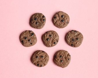 Chocolate Cookie Cabochons Kawaii Decoden Phone Cases, etc.