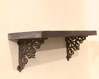Shelf Brackets/Small Shelf Brackets/Rustic Shelf Brackets/Cast Iron Shelf Brackets/Metal Shelf Brackets/Rustic Brackets/Shelf