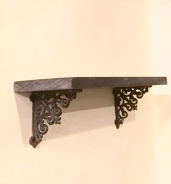 mini shelf brackets small shelf brackets rustic shelf. Black Bedroom Furniture Sets. Home Design Ideas